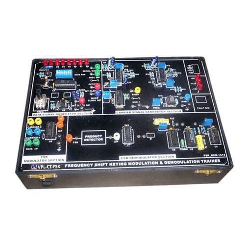 Frequency Shift Keying Modulation & Demodulation Trainer