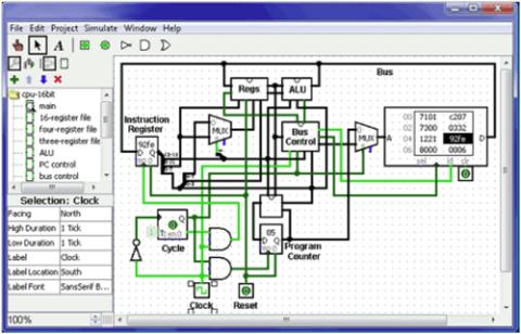 VPL CircuitSimulator Sowftare